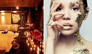 Facial Treatments Using Gold