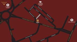 Spa Northumberland Map
