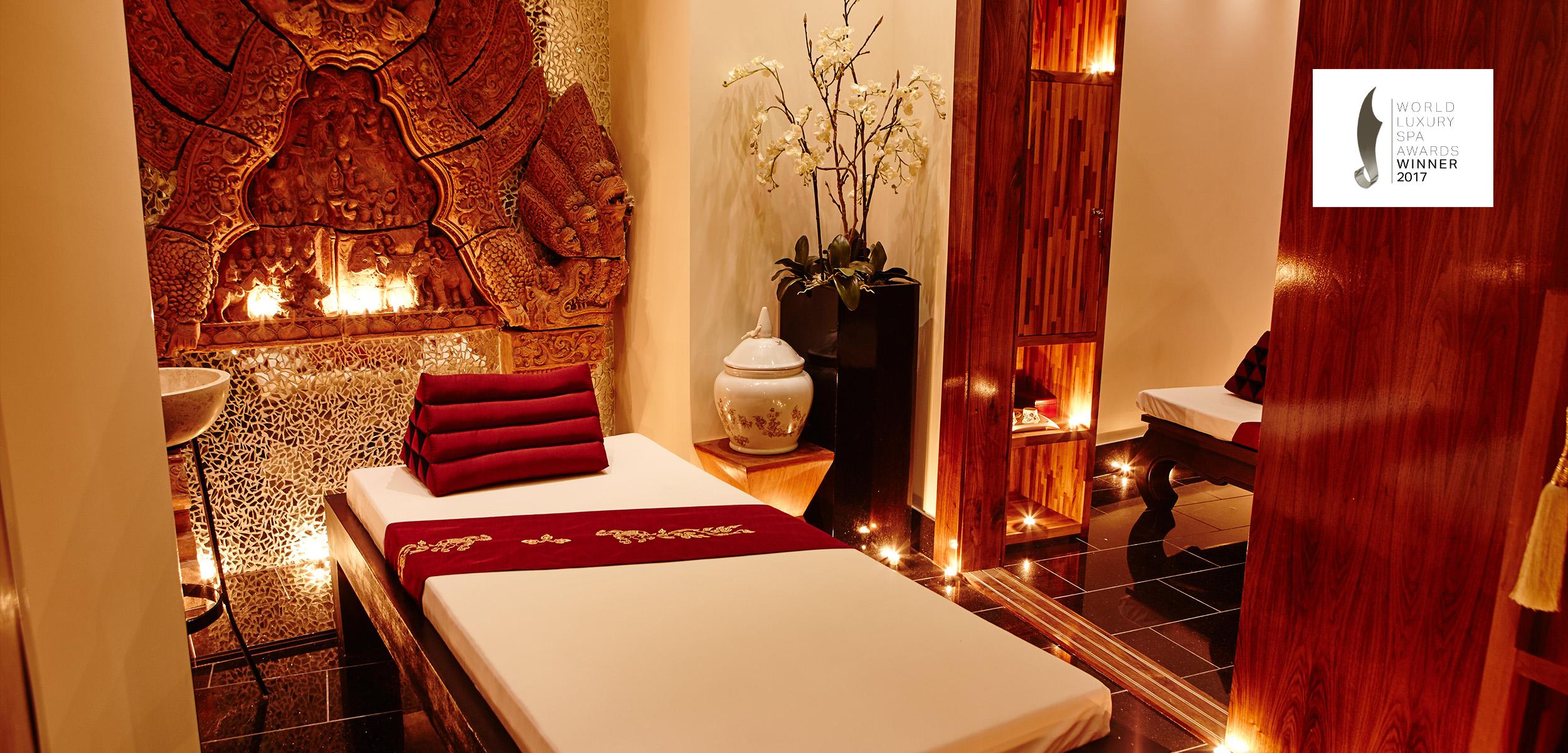 thai spa luxury bed